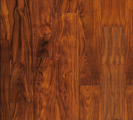 Crawford 4.75 Engineered Acacia Hardwood Flooring in Golden Topaz by Albero Valley