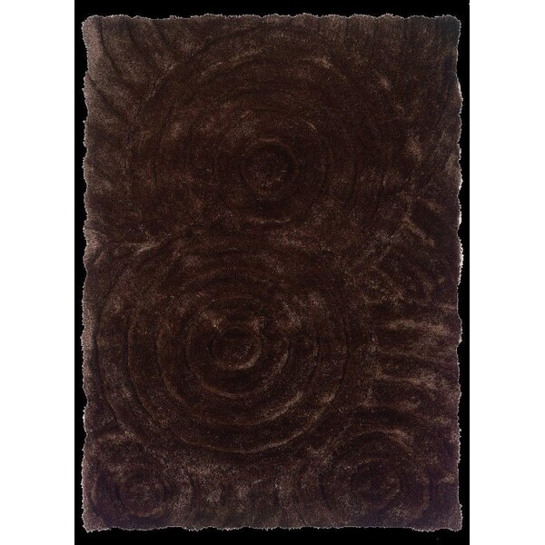 Hand-Tufted Chocolate Area Rug by The Conestoga Trading Co.