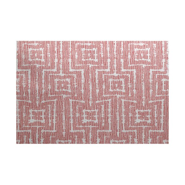 Thirlby Red Indoor/Outdoor Area Rug by Beachcrest Home