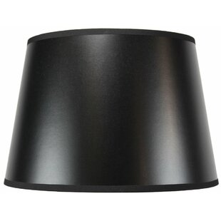 Black parchment lamp shade wayfair lined 14 fabric parchment empire lamp shade aloadofball Gallery