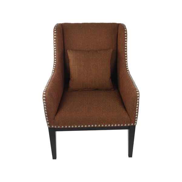 Hansen Wingback Chair by Fox Hill Trading