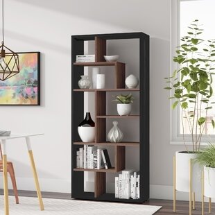 Salyer Geometric Bookcase