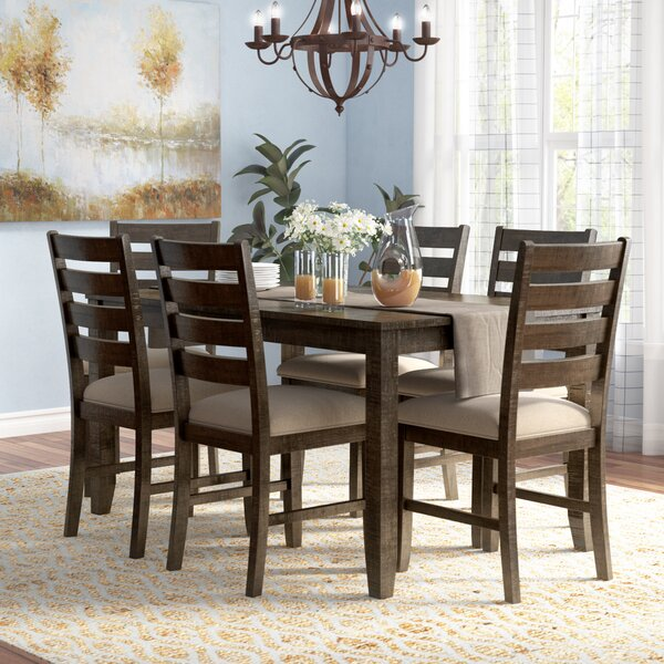 Chapdelaine 7 Piece Dining Set by Gracie Oaks