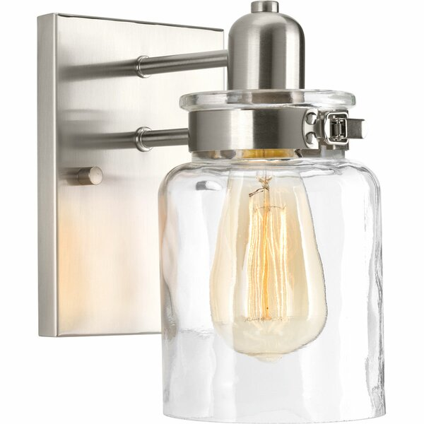 Vasilia 1 Light Bath Sconce [Laurel Foundry Modern Farmhouse]
