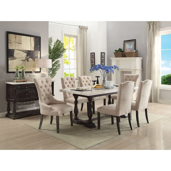Nunan Upholstered Dining Chair (Set of 2) by Gracie Oaks
