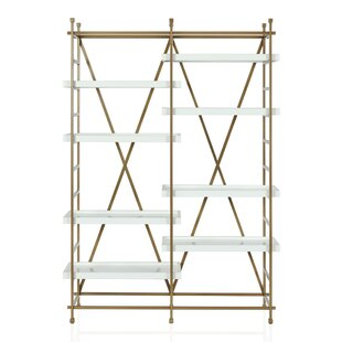 Yves Metal Etagere Bookcase