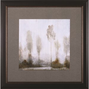 Misty Marsh II by Tim O'Toole Framed Painting Print by Art Effects