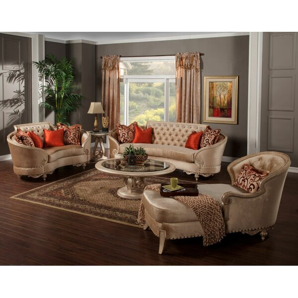 Oak Hill Configurable Living Room Set by Astoria Grand