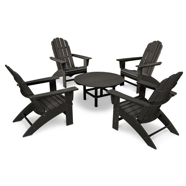 Vineyard 5 Piece Seating Group by POLYWOOD®