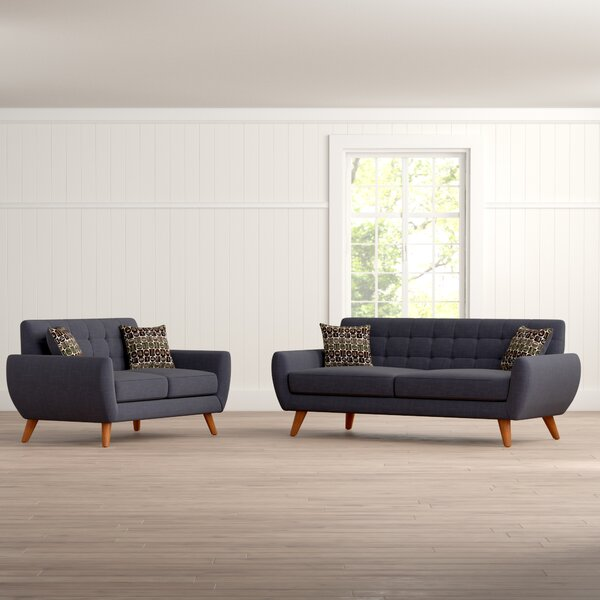 Inexpensive Wooten 2 Piece Living Room Set by Langley Street™