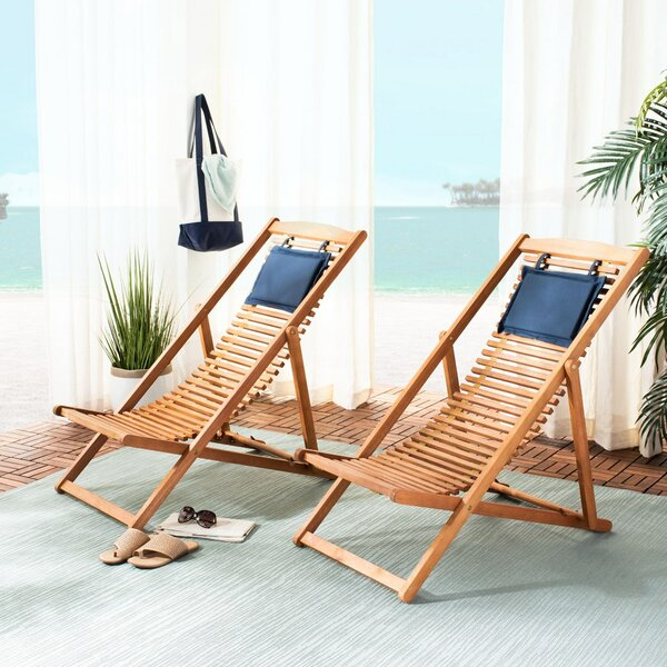 Imani Relax Patio Chair by Rosecliff Heights