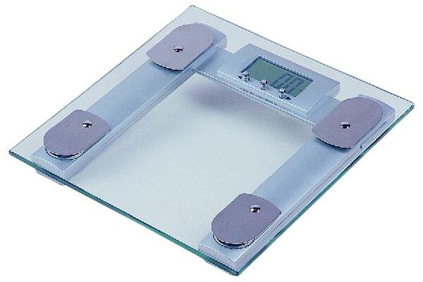 Square Digital Body Fat Analyzer Bathroom Scale by Trimmer