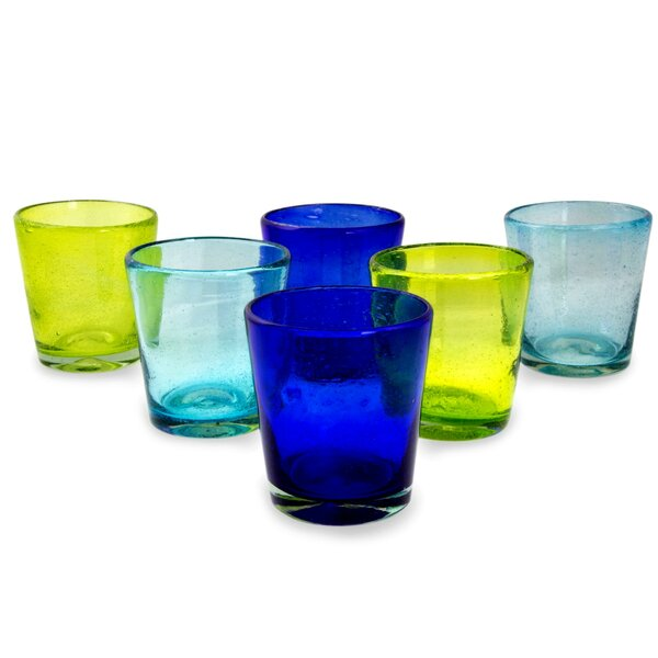 Two By Two Juice Glass (Set of 6) by Novica