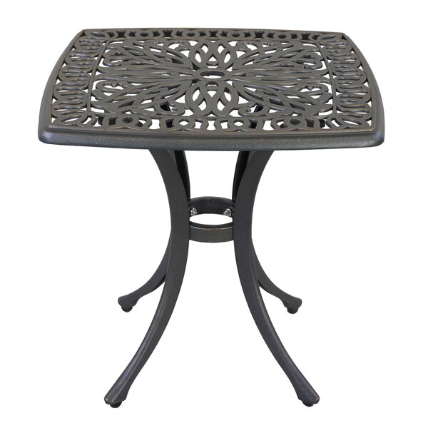 Quintin Metal Side Table By Fleur De Lis Living by Fleur De Lis Living Great Reviews