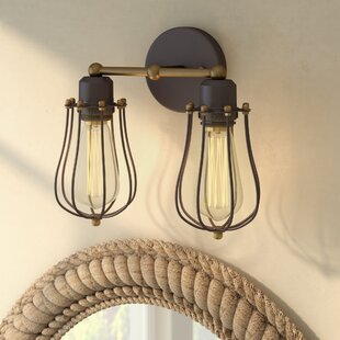 Affordable Armona 2-Light Armed Sconce By Beachcrest Home