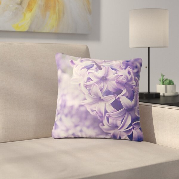 Angie Turner Dreams Lilac Outdoor Throw Pillow by East Urban Home