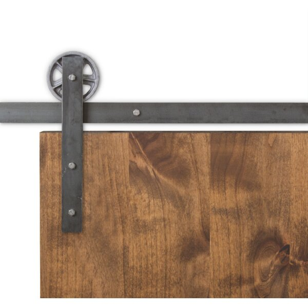 Vintage Sliding Barn Door Hardware by Artisan Hardware