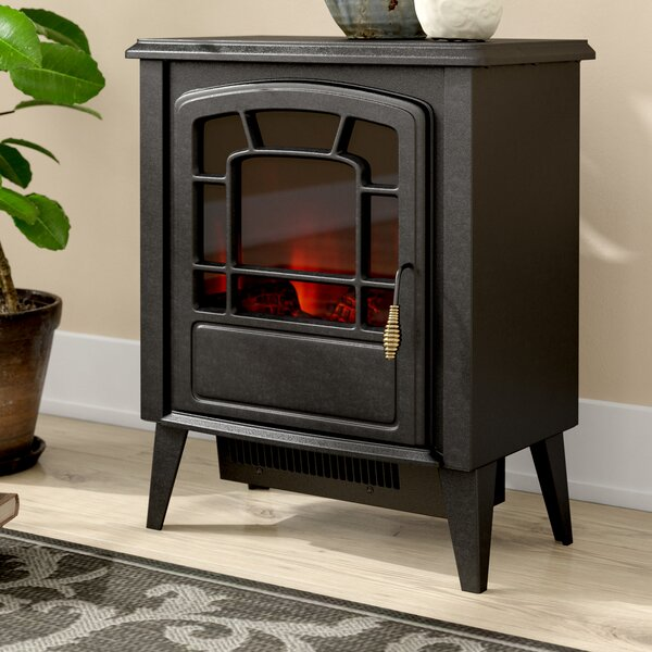 Lochner Freestanding Electric Fireplace by Winston Porter