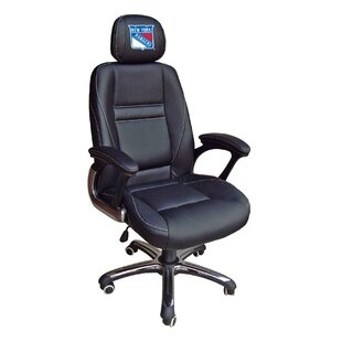NHL Leather Desk Chair by Tailgate Toss