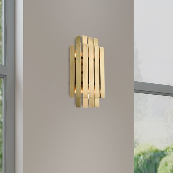 Hankins 2-Light Wall Sconce by Mercer41