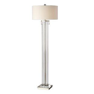 Online Reviews Arnold Monette Tall Cylinder 66 Traditional Floor Lamp By Orren Ellis