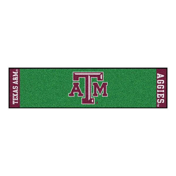 NCAA Texas A&M University Putting Green Doormat by FANMATS
