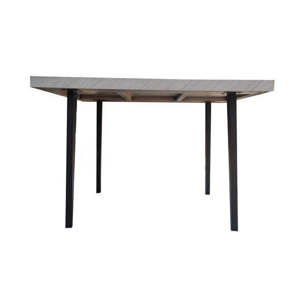 Fiskeville Acacia Square Dining Table by Union Rustic Union Rustic