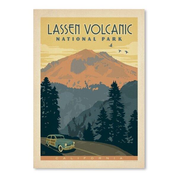 Lassen Volcanic National Park Vintage Advertisement by East Urban Home