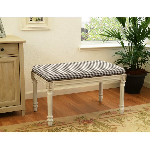 Kevon Upholstered Bench by Rosalind Wheeler