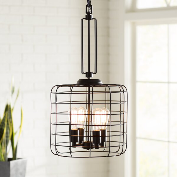 Trent austin design kawah 4 light pendant wayfair