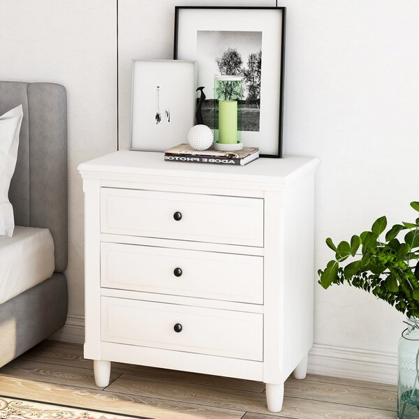 Addilynn 2 - Drawer Nightstand In White By Darby Home Co