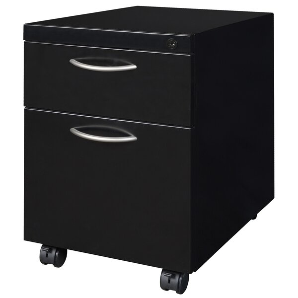 Stivers 2-Drawer Mobile Lateral File by Red Barrel Studio