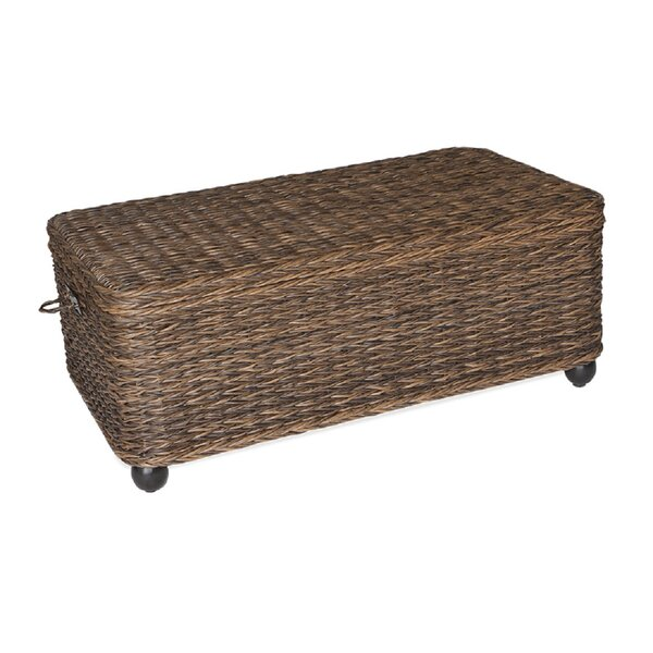 Flemming Rattan Coffee Table by Inspired Visions