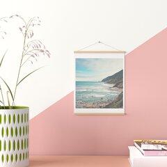 Pacific Coast Highway Print, California Coast Cojo Beach Canvas Gallery Wraps