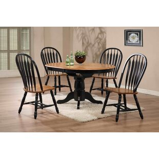 Florentia 5 Piece Solid Wood Dining Set By Beachcrest Home