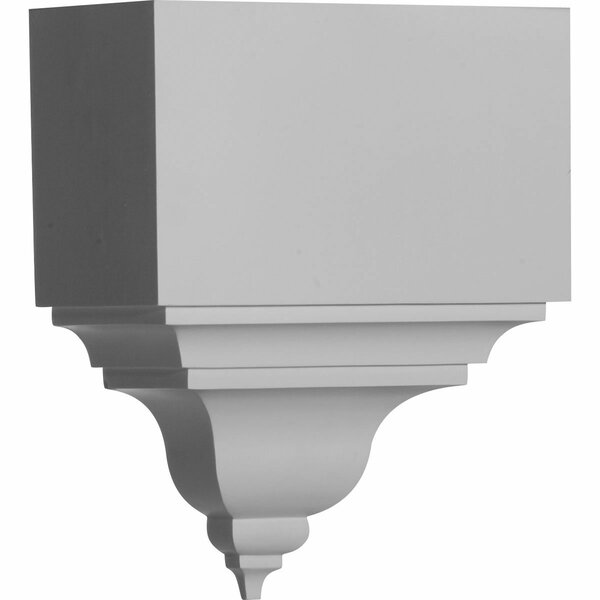 13 3/4H x 11W x 5 1/2D Coupling for Moulding Profiles by Ekena Millwork