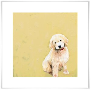 'Best Friend - Golden Doodle' by Cathy Walters Print of Painting on Paper by GreenBox Art