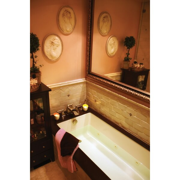 Designer Lacey 72 x 40 Soaking Bathtub by Hydro Systems