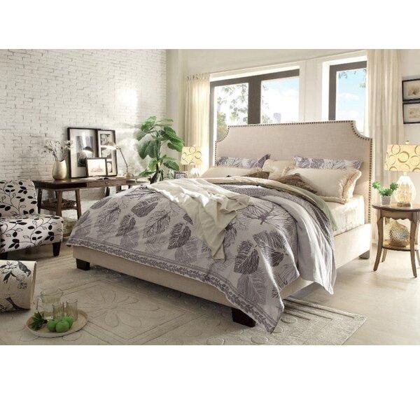 Kingston Upholstered Panel Bed by Diamond Sofa