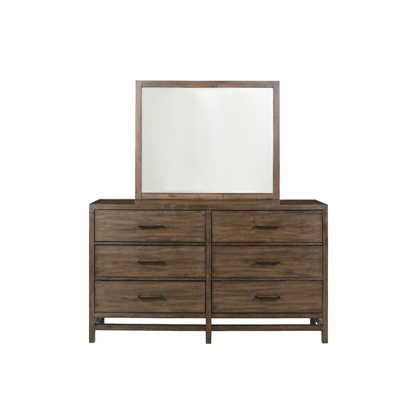 Han 6 Drawer Double Dresser by Union Rustic