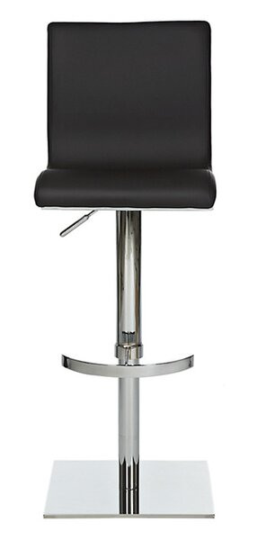 Smooth Adjustable Swivel Bar Stool by YumanMod
