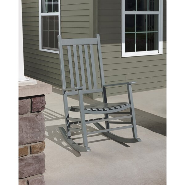 Jocelyn Mission Rocking Chair By Highland Dunes by Highland Dunes