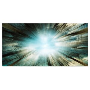 'Light from Sky' Photographic Print on Wrapped Canvas by Design Art