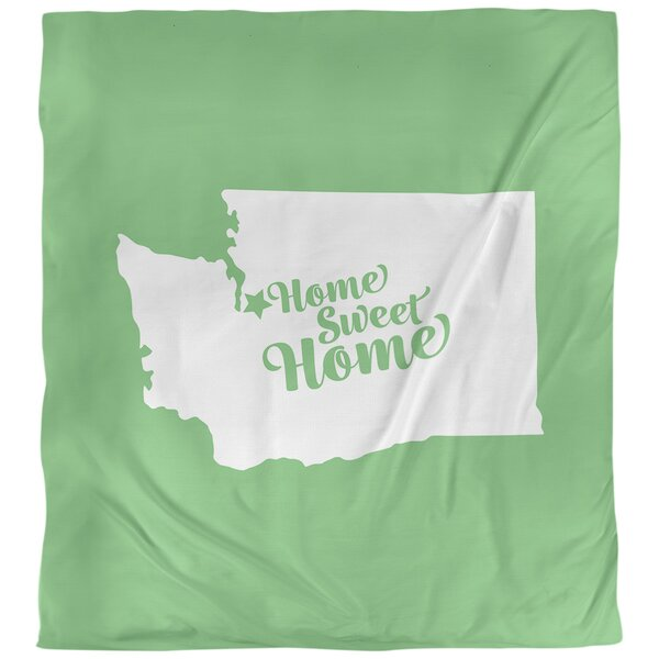 Home Sweet Seattle Single Reversible Duvet Cover