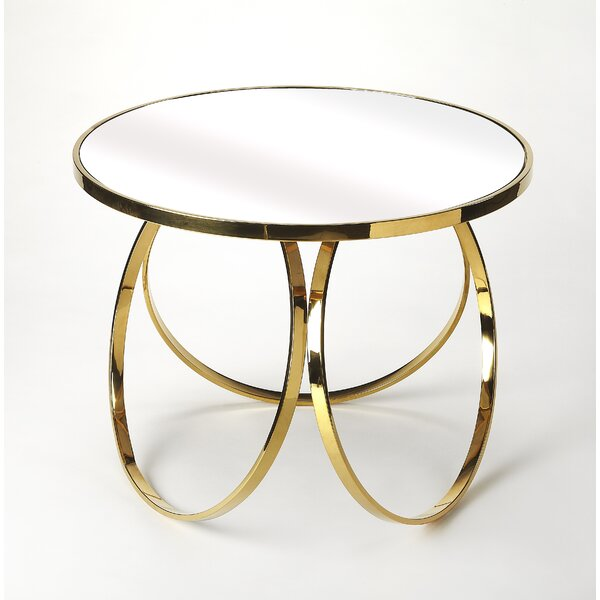 Alberty End Table by Everly Quinn