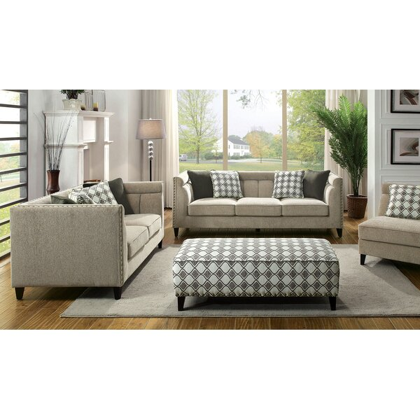 Cromer Configurable Living Room Set by Canora Grey