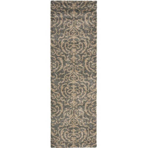 Gustav Light Gray/Beige Area Rug by Willa Arlo Interiors