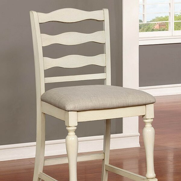 Ford Counter Height Dining Chair (Set of 2) by Rosecliff Heights