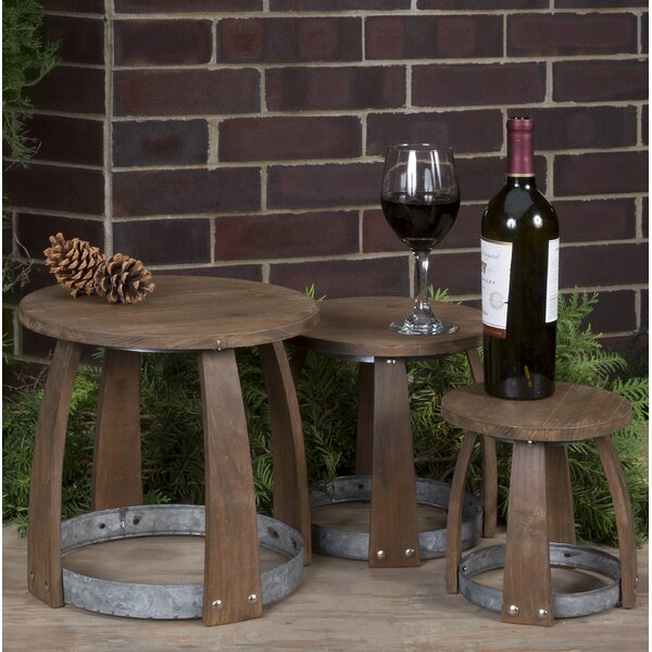 Wendland Vineyard Stackable 3 Piece Set by Millwood Pines