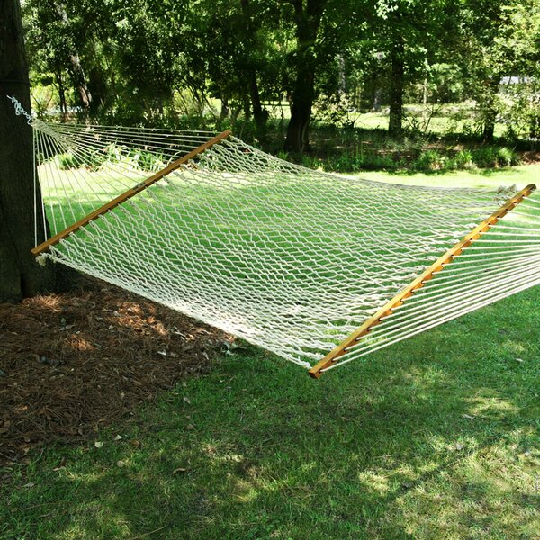 Edmonds Large Original DuraCord Rope Tree Hammock by Charlton Home